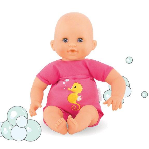 Mon premier bébé bain plouf fuchsia