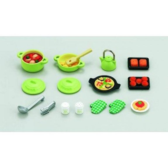 Set ustensiles cuisine - Sylvanian Families 2938
