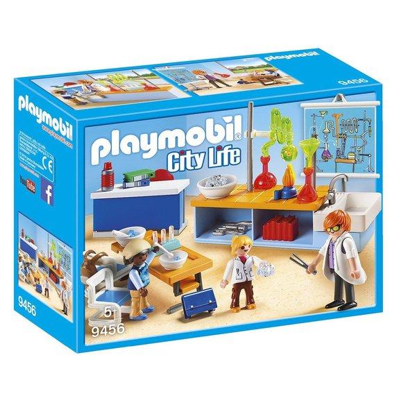 Classe de Physique Chimie Playmobil City Life 9456
