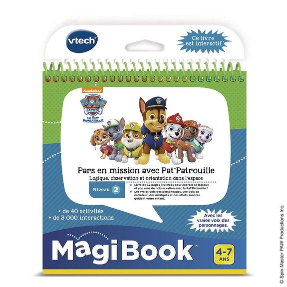 Livre Magibook Pat'Patrouille