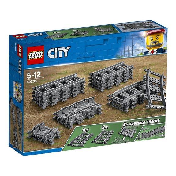 Pack de rails LEGO City 60205