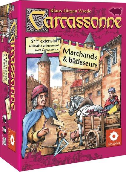 Carcassonne Extention 2 Marchands et Bâtisseurs