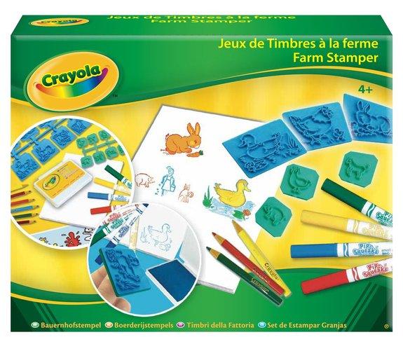 Coffret jeux de timbres à la ferme