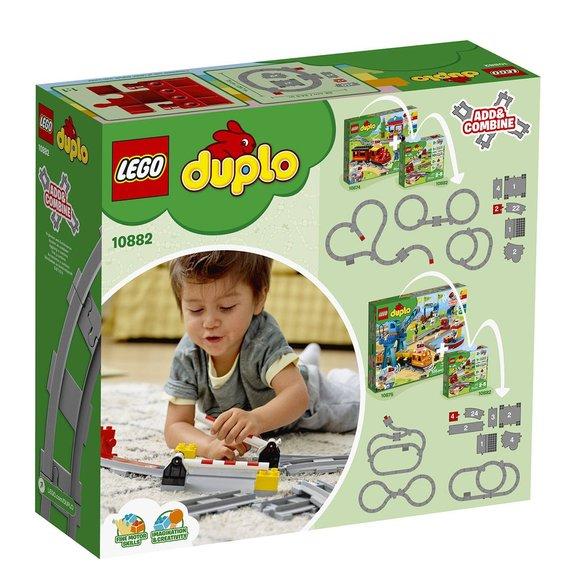 Les rails du train LEGO Duplo 10882