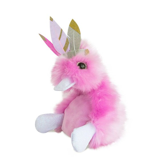 Peluche Coin Coin 22 cm Lilly Plume