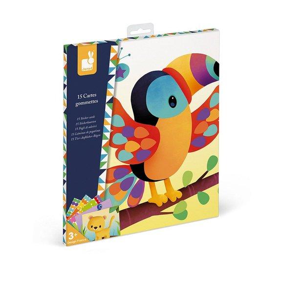 Kit Créatif - Cartes Gommettes