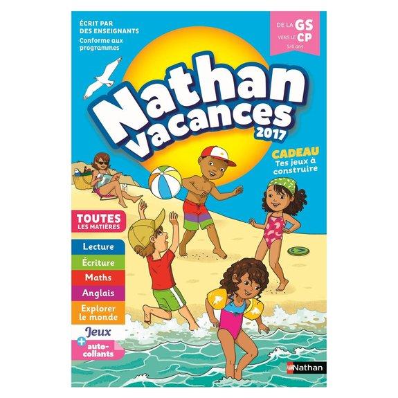 Cahier de Vacances de la Maternelle au CP