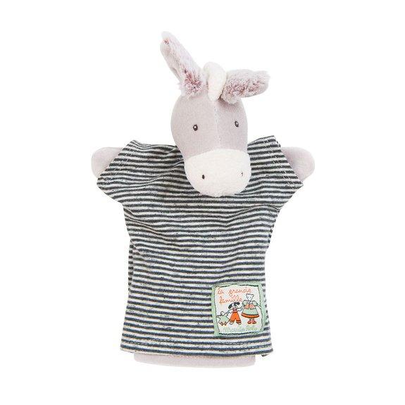 Peluche Les Marionnettes Barnabé l'âne