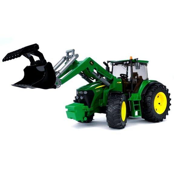Tracteur John Deere 7930 avec Fourche