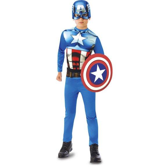 Panoplie Captain America et son bouclier Taille L