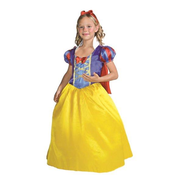 Déguisement de princesse jaune et bleu 8-10 ans