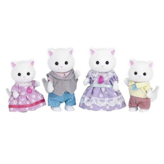 La famille des chats persans