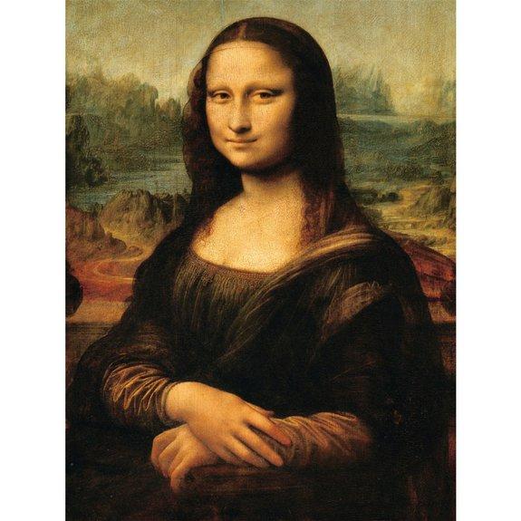 Puzzle 1000 pièces Art collection : La Joconde - Léonard de Vinci