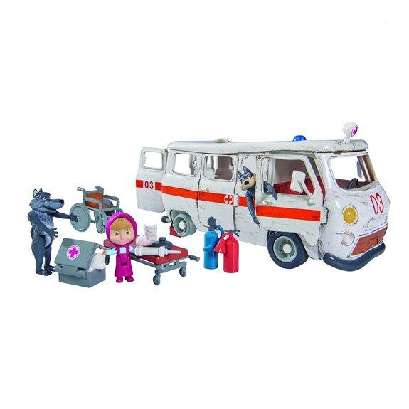 Ensemble de jeu Masha ambulance