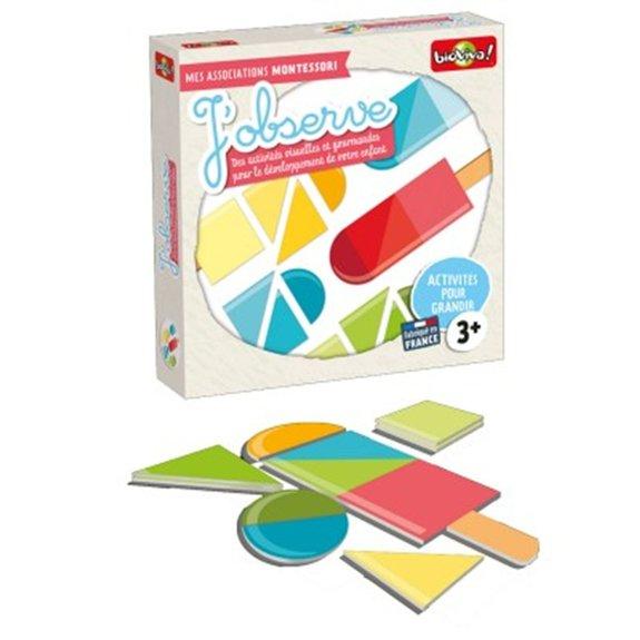 Mes associations Montessori : J'observe