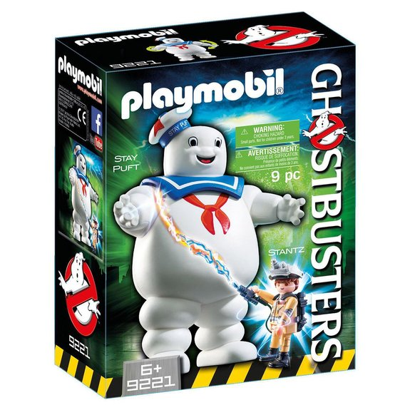 Bibendum Chamallow et Stantz Playmobil Ghostbusters 9221