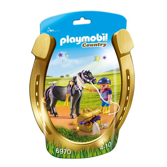 Poney à décorer Etoile Playmobil Country 6970