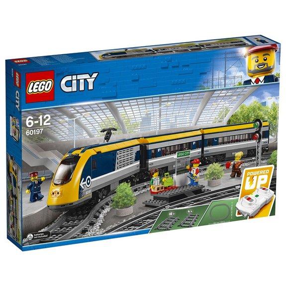Le train de passagers télécommandé Lego City 60197