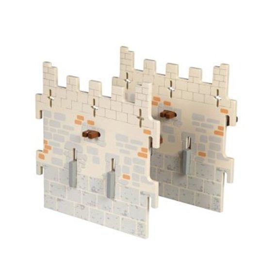 Extension château du maître des armes : 2 Murs intermédiaires