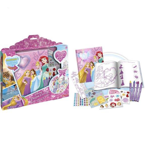 Cahier d'activité lumineux Disney princesses