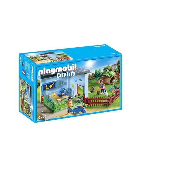 Maisonnette des rongeurs et lapins Playmobil City Life 9277