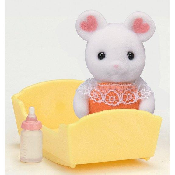 Sylvanian - Le bébé souris Marshmallow