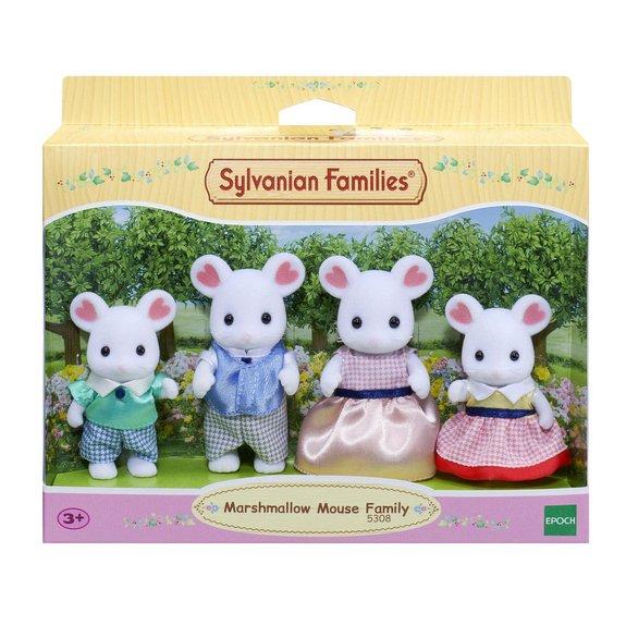 Sylvanian - Famille souris Marshmallow