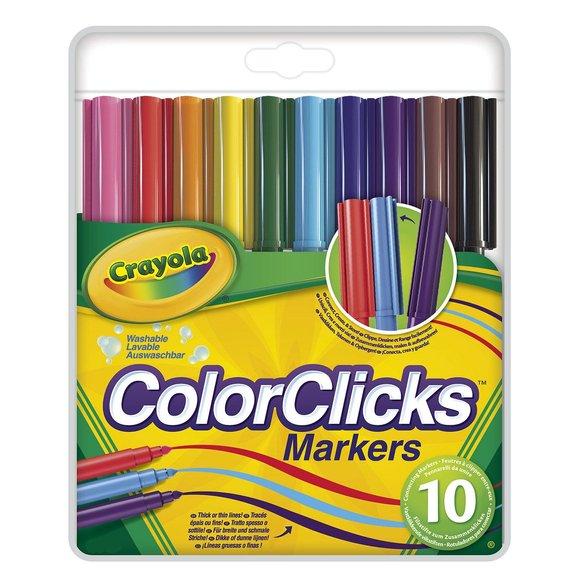 10 feutres color click
