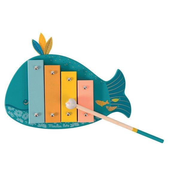 Xylophone baleine : le voyage d'Olga