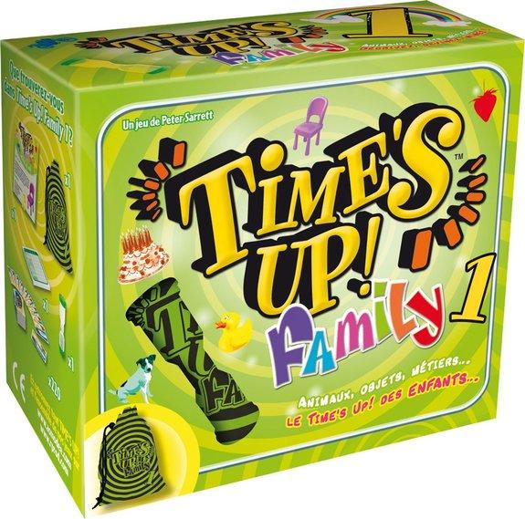 Time's up Family vert