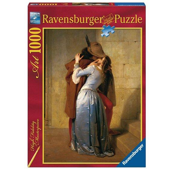 Puzzle 1000 pièces Art collection : Le baiser - Francesco Hayez