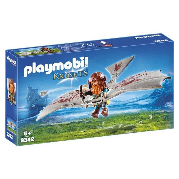 Nain avec deltaplane Playmobil Knights 9342