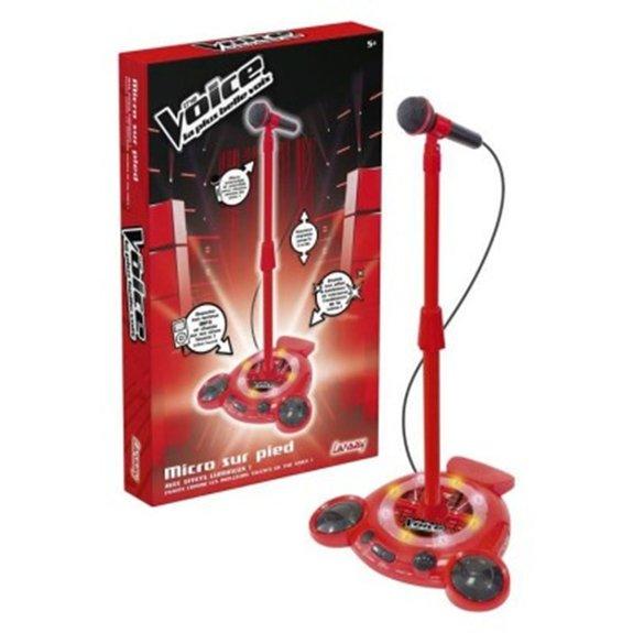 Micro sur pied The Voice