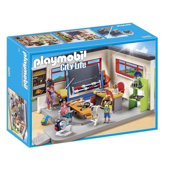 Classe d'Histoire Playmobil City Life 9455