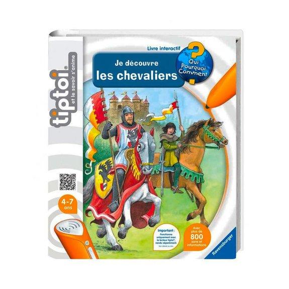 Livre interactif Tiptoi : Je découvre les chevaliers