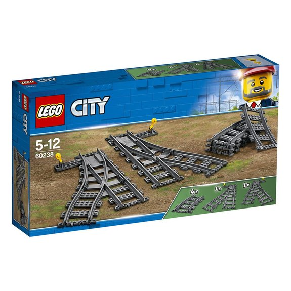 Les aiguillages LEGO City 60238