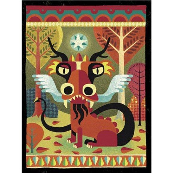 Peinture Gouaches : Dragons
