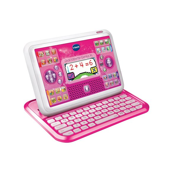 Ordinateur tablette XL rose