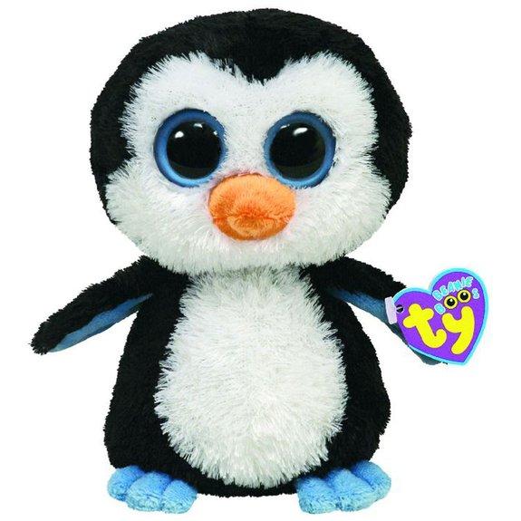 Peluche Beanie Boos Pingouin 15 cm