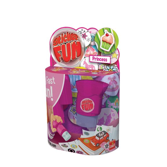 Sticker Fun Princesses