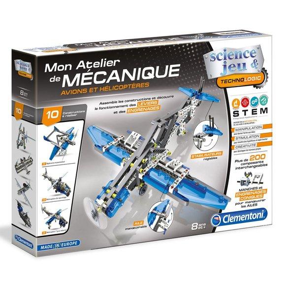 Mon Atelier de Mécanique : Avions et Hélicoptères