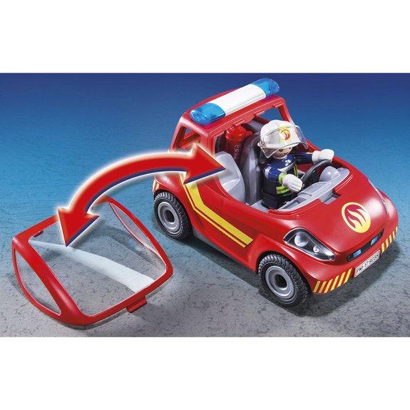 Véhicule Pompier D'intervention Action 9235 City Et Playmobil POuZikX