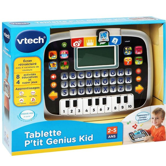 Tablette P'tit Genius Kid noir