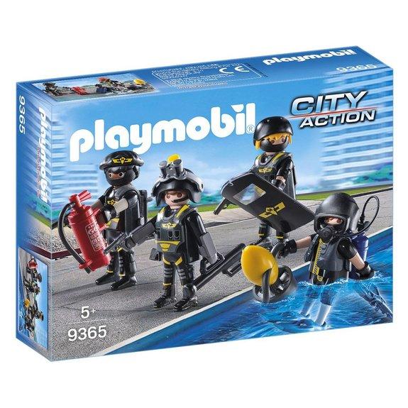 Policiers d'élite Playmobil City Action 9365