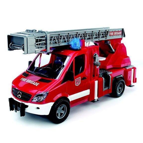 Camion de Pompier Mercedes-Benz