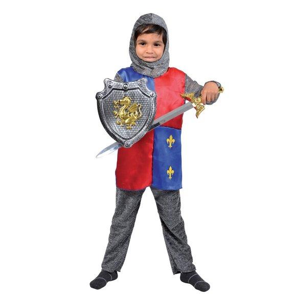 Déguisement chevalier et accessoires 5/7 ans