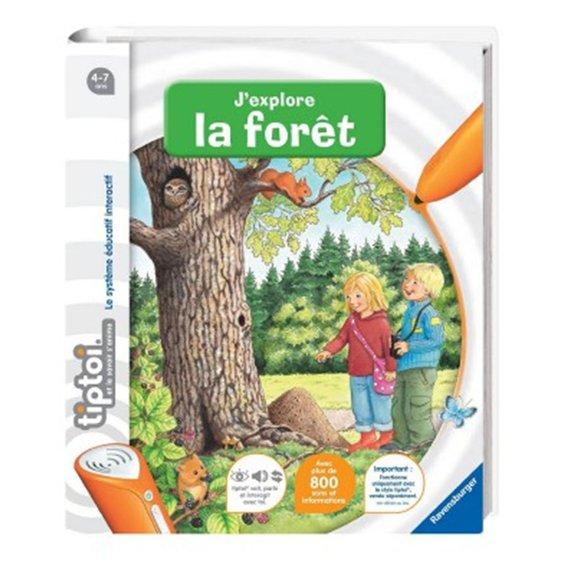Livre électronique Tiptoi : J'explore la forêt