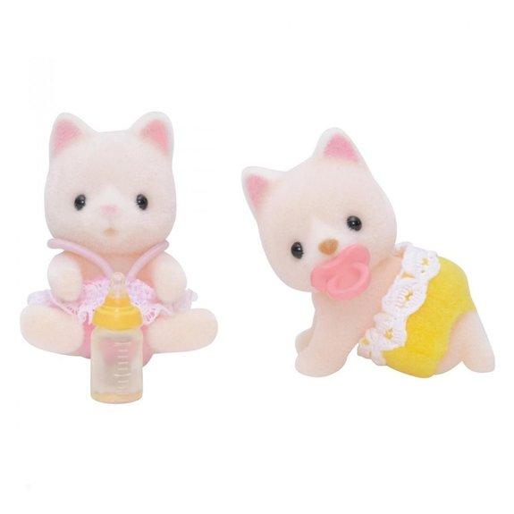 Jumeaux chats soie Sylvanian Families 5082