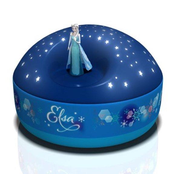 Projecteur d'étoiles musical La Reine des Neiges