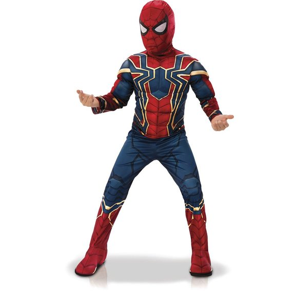 Déguisement Luxe Iron-Spider : Taille S